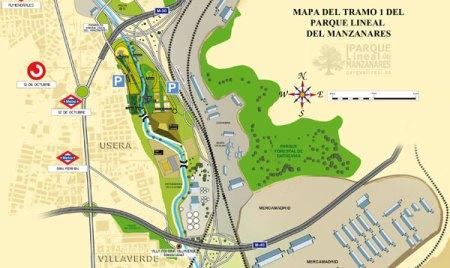 mapa-tramo1-parque-lineal-del-manzanares
