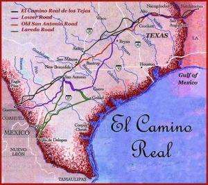 Camino real de Tejas