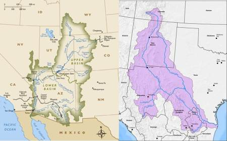 Rio-Grande-Colorado-River-basins