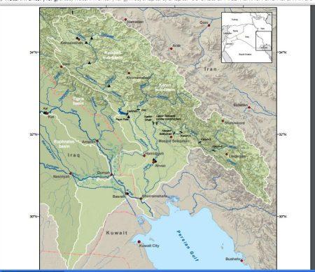 Karkheh karun rivers