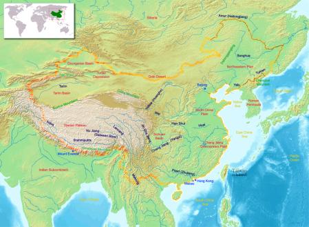 chinageography